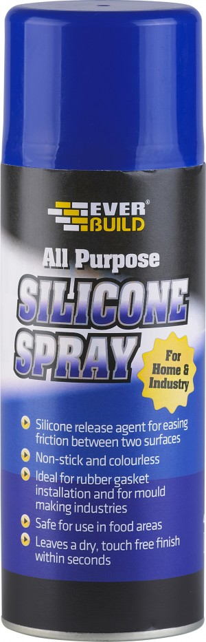 SikaEverbuild Silicone Spray 400ml [EVBSILSPRAY]