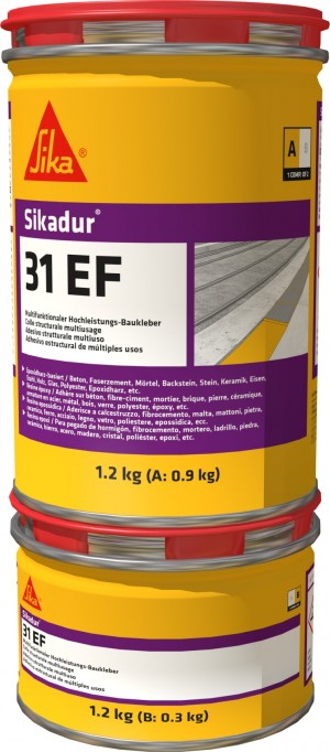 SikaEverbuild Dur 31CF Normal 1.2kg Grey [SIKA117485]