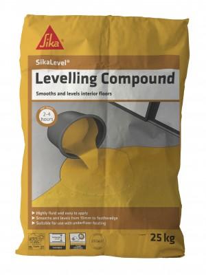 SikaEverbuild 20 Levelling Compound 25kg Grey [SIK18LEC25]