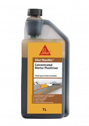 SikaEverbuild MaxMix Plasticiser 1L Brown [SIKA170376]