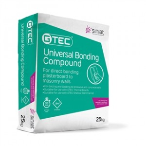 GTEC UNIVERSAL BONDING COMPOUND 25KG BAG  SMPBQAA