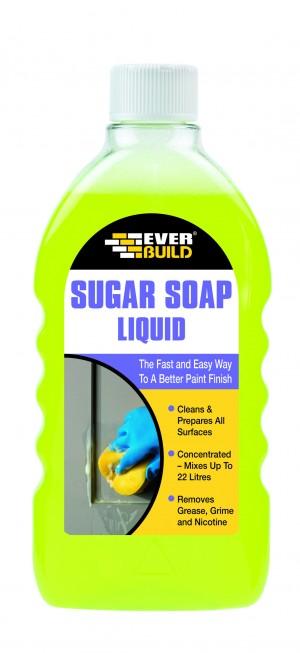 SikaEverbuild Sugar Soap Liquid 500ml [EVSOAPLIQ]