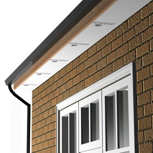 Strip Sill Soffit Strip 2400 x150 x4-6mm RESISTANT
