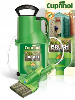 Cuprinol Spray & Brush 2in1 Pump Sprayer
