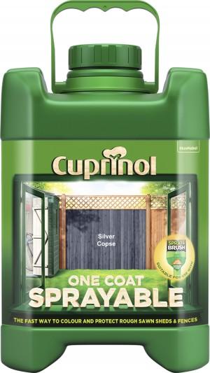 Cuprinol One Coat Sprayable Fence Treatment 5 Litres