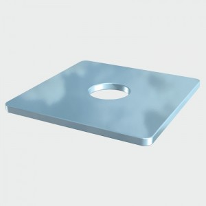Square Plate Washer -BZinc Plated M12 50x50x3mm