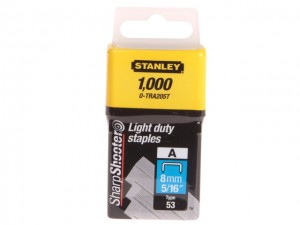 TRA2 Light-Duty Staple 8mm TRA205T Pack 1000 - CLE0TRA205T