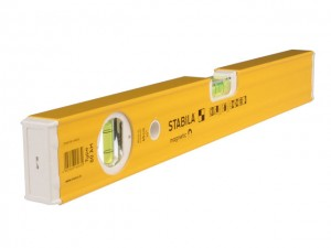 80AM Single Plumb Magnetic Box Section Spirit Levels  STB80ANM100