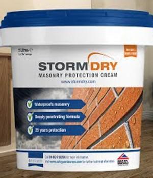 Stormdry Masonry Creams [Damp Proofing]  SGUDMSTORMDRY