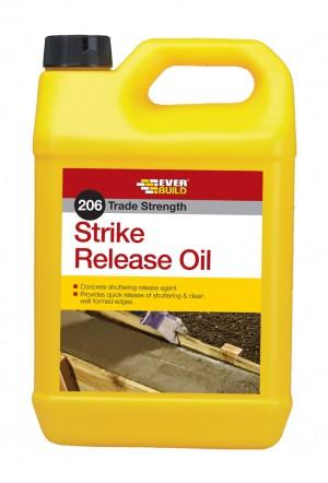SikaEverbuild 206 Strike Release Oil 5L [SIKSTRIKE5]