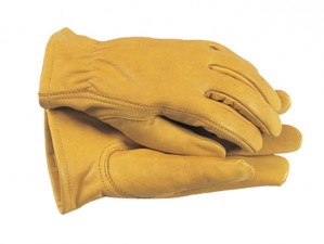 Premium Leather Grain Cowhide Gloves  T-CTGL105M