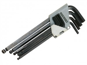 Ball Point Hex Key Set of 9