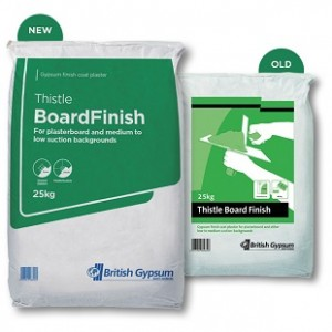 THISTLE BOARD FINISH - 25KG Plaster