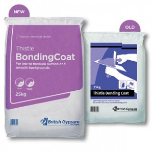 THISTLE BONDING COAT - 25KG Plaster