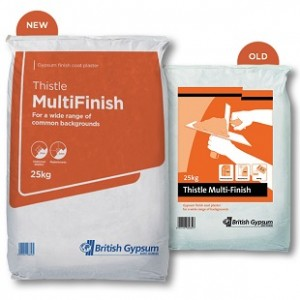 THISTLE MULTI FINISH PLASTER - 25KG