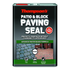 Thompsons Patio & Block Paving Seal 5L Natural Finish