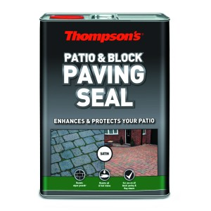 Thompsons Patio & Block Paving Seal 5L Satin Finish