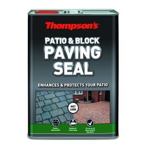 Thompsons Patio & Block Paving Seal 5L Wet Look Finish
