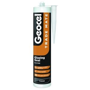 Geocel Trade Mate Glazing Silicone Sealant 310ml Clear [GEOTMGSCL]