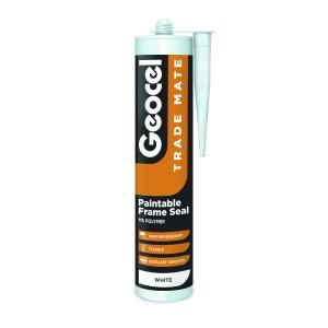 Geocel Trade Mate Paintable Frame Seal 310ml White [GEO2904390]