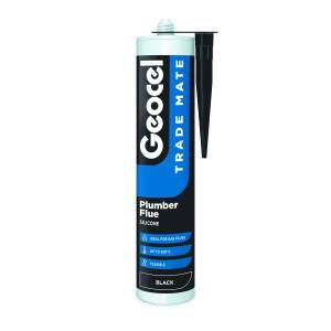 Geocel Trade Mate Plumber Flue H.T. 310ml Black [GEO2902444]