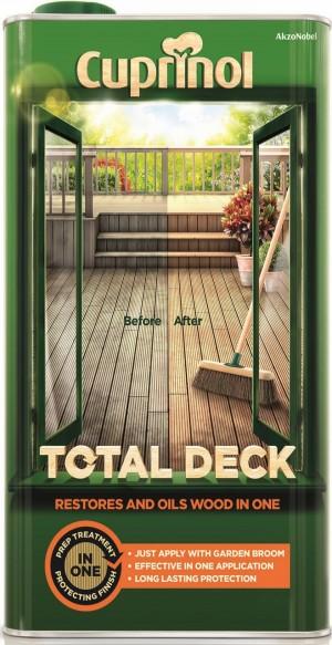 Cuprinol Total Deck Clear