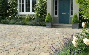 STONEMARKET PAVING SLABS -  Trident permeapave permable driveway block paving