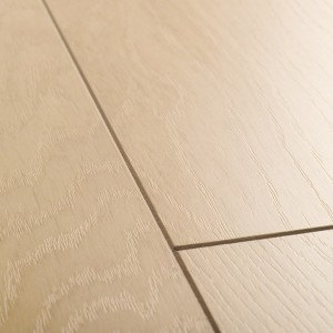 QUICK STEP Laminate Flooring Perspective 4-Way Wide OAK WHITE OILED PLANKS - 9.5x190x1380mm