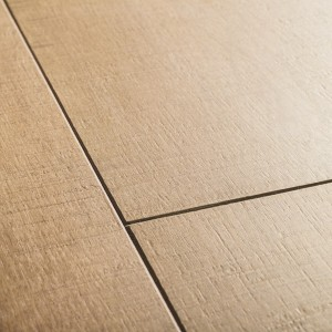 QUICK STEP Laminate Flooring Perspective 4-Way Wide OAK PLANKS WITH SAW CUTS - 9.5x190x1380mm