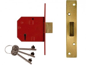 2134E BS 5 Lever Mortice Deadlock