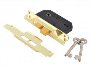 2 Lever Rebated Sashlock - 2242  UNNJ2242EB25