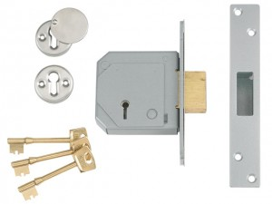 3G114E BS C Series 5 Lever Mortice Deadlock