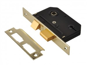Essentials 3 Lever Mortice Sashlock  UNNYESSLPB25