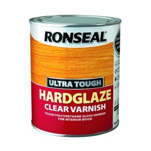 Ronseal Ultra Tough Hardglaze Clear Varnish