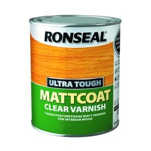 Ronseal Ultra Tough Mattcoat Clear Varnish