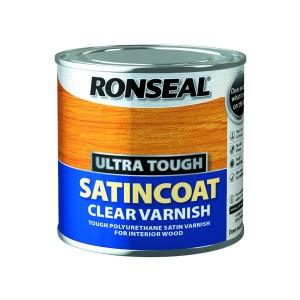 Ronseal Ultra Tough Satincoat Clear Varnish