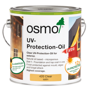 OSMO UV Protection Oil Extra Clear Satin