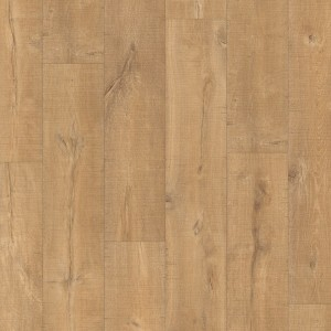 QUICK STEP Laminate Flooring Eligna Wide OAK PLANKS WITH SAW CUTS - 8x190x1380mm  UW1548