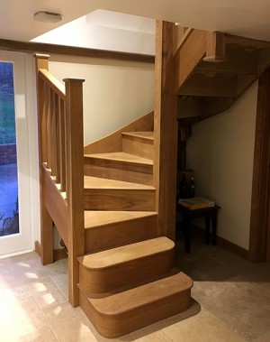 Pear Stairs - White Cottage Staircase (695)