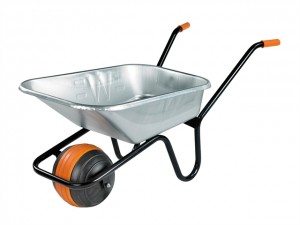 90 Litre Duraball Galvanised Wheelbarrow