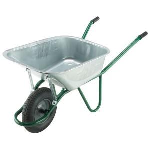WALIGVPDD 120L Invincible Galvanised Wheelbarrow