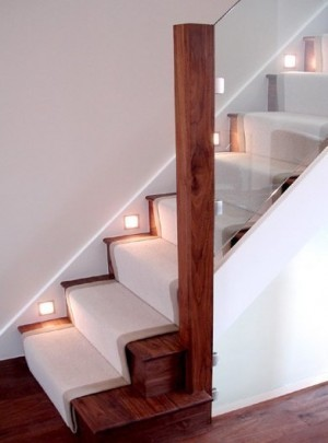 Pear Stairs - Walnut and Glass Staircase (5)