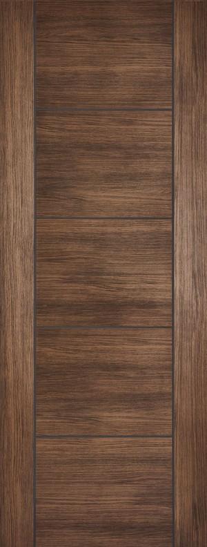 "LPD - Internal Door - Walnut Laminated Vancouver 1981 x 610 (24"")  LAMWALVAN24"
