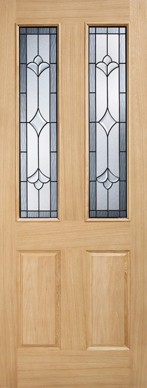 "LPD - External Door - Warmer Door - Part L Salisbury Glazed 2L 2032 x 813 (32"")  OWDSAL32"