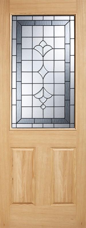 """LPD - External Door - Warmer Door - Part L Winchester Glazed 1L 1981 x 762 (30"""")  OWDWINC30"""