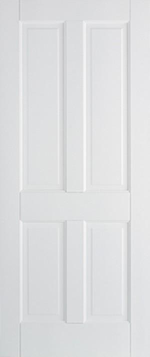 "LPD - Internal Door - White Canterbury 4P 1981 x 610 (24"")  WFCAN4P24"