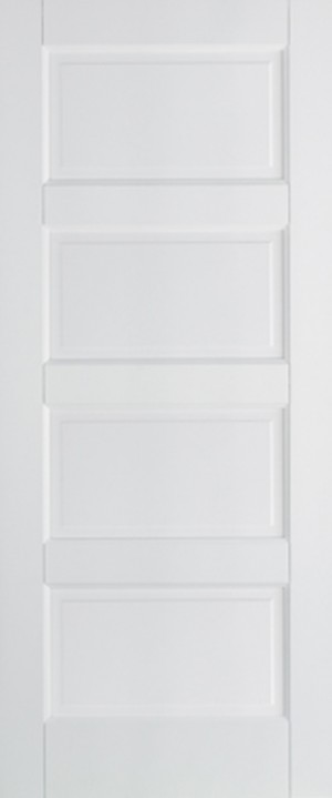 "LPD - Internal Door - White Contemporary 1981 x 686 (27"")  WFCON4P27"