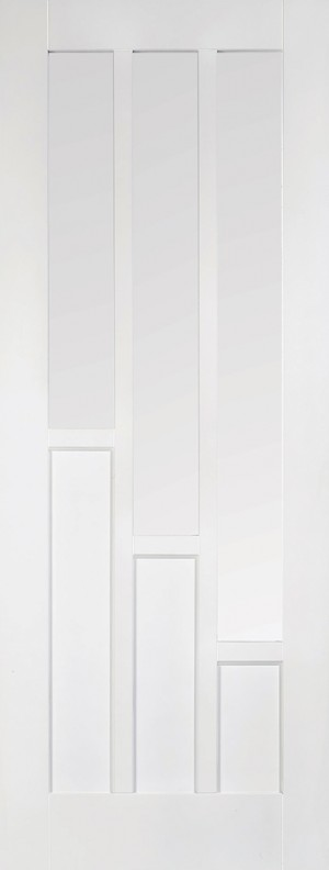 """LPD - Internal Door - White Coventry Glazed 3L 1981 x 686 (27"""")  WFCOVCG27"""