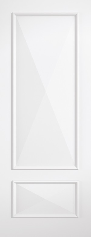 "LPD - Fire Door - White Knightsbridge 2P 1981 x 838 (33"")  KNIWHIFC33"