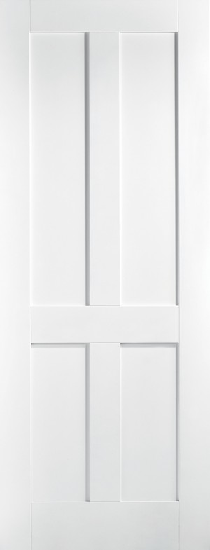 "LPD - Fire Door - White London 4P 1981 x 686 (27"")  WFLONFC27"